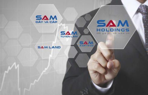 SACOM chính thức đổi tên thành Công ty Cổ phần SAM Holdings
