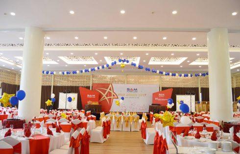 Tiệc Staff Award SAM Tuyền Lâm 2017