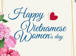 Thư chúc mừng của Tổng Giám đốc nhân ngày Phụ Nữ Việt Nam